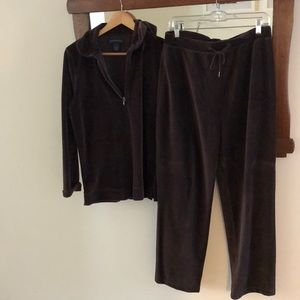 Charter Club Track Suit, Brown